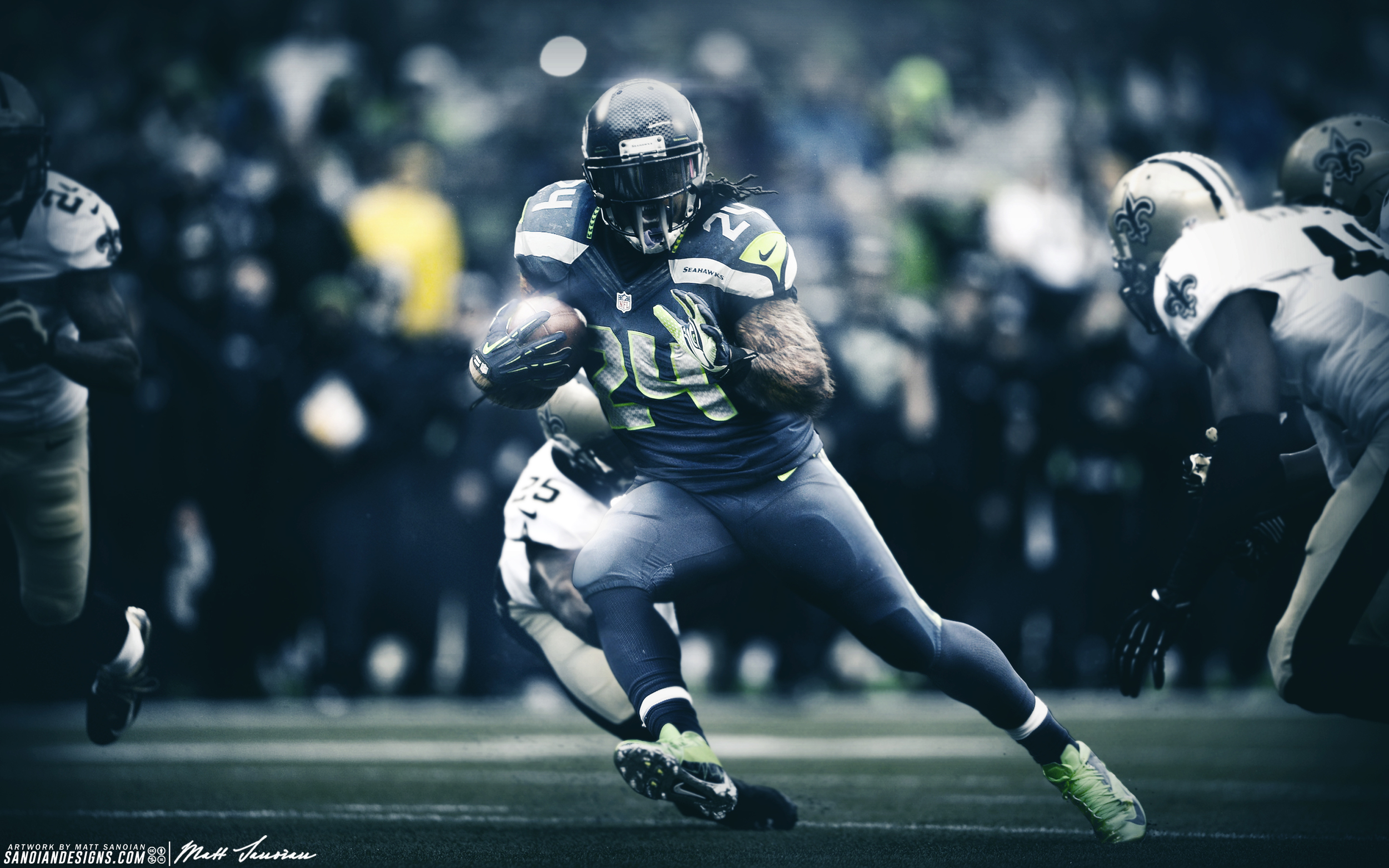 Marshawn Lynch - Beast Mode