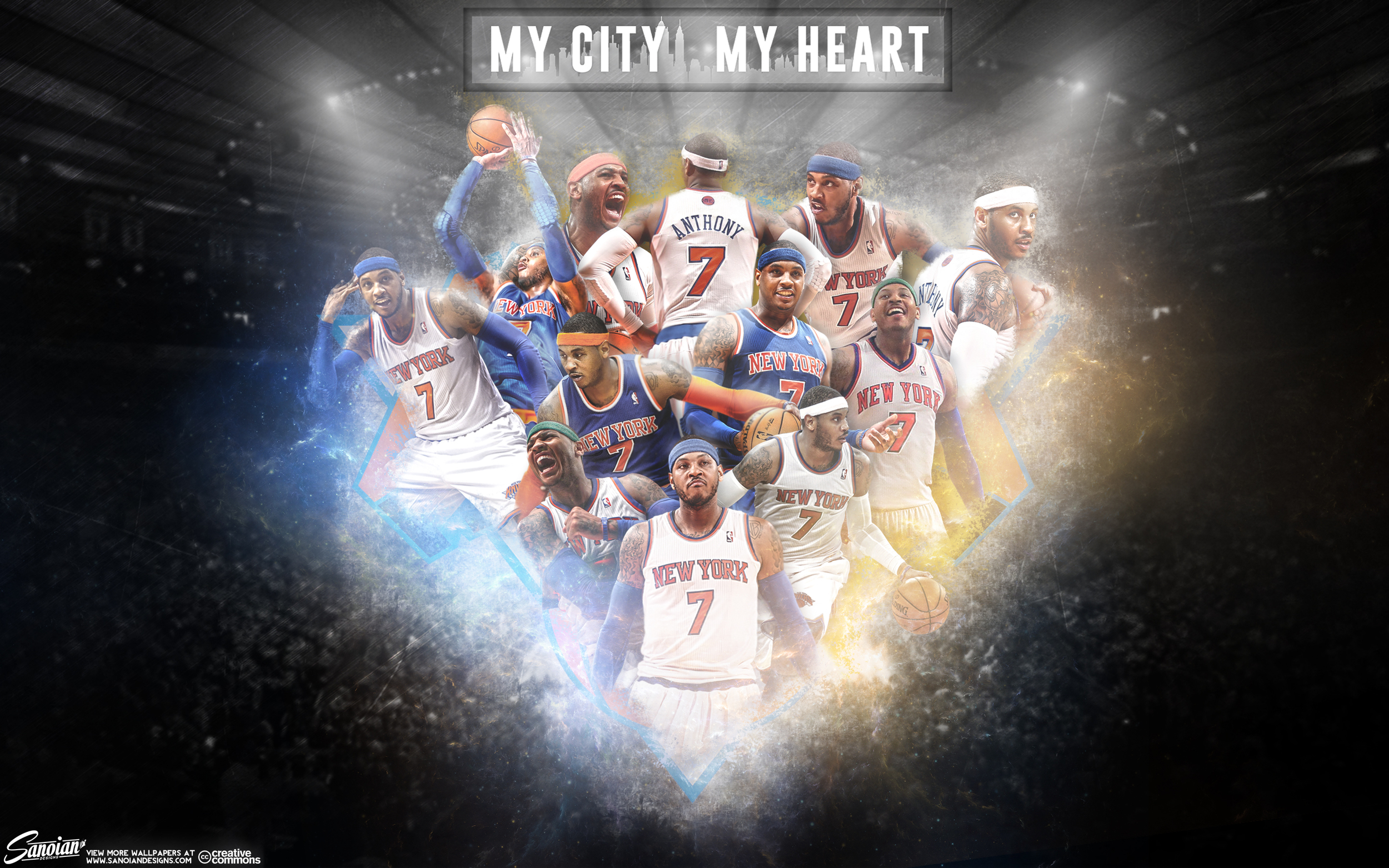 Camelo Anthony - My City, My Heart