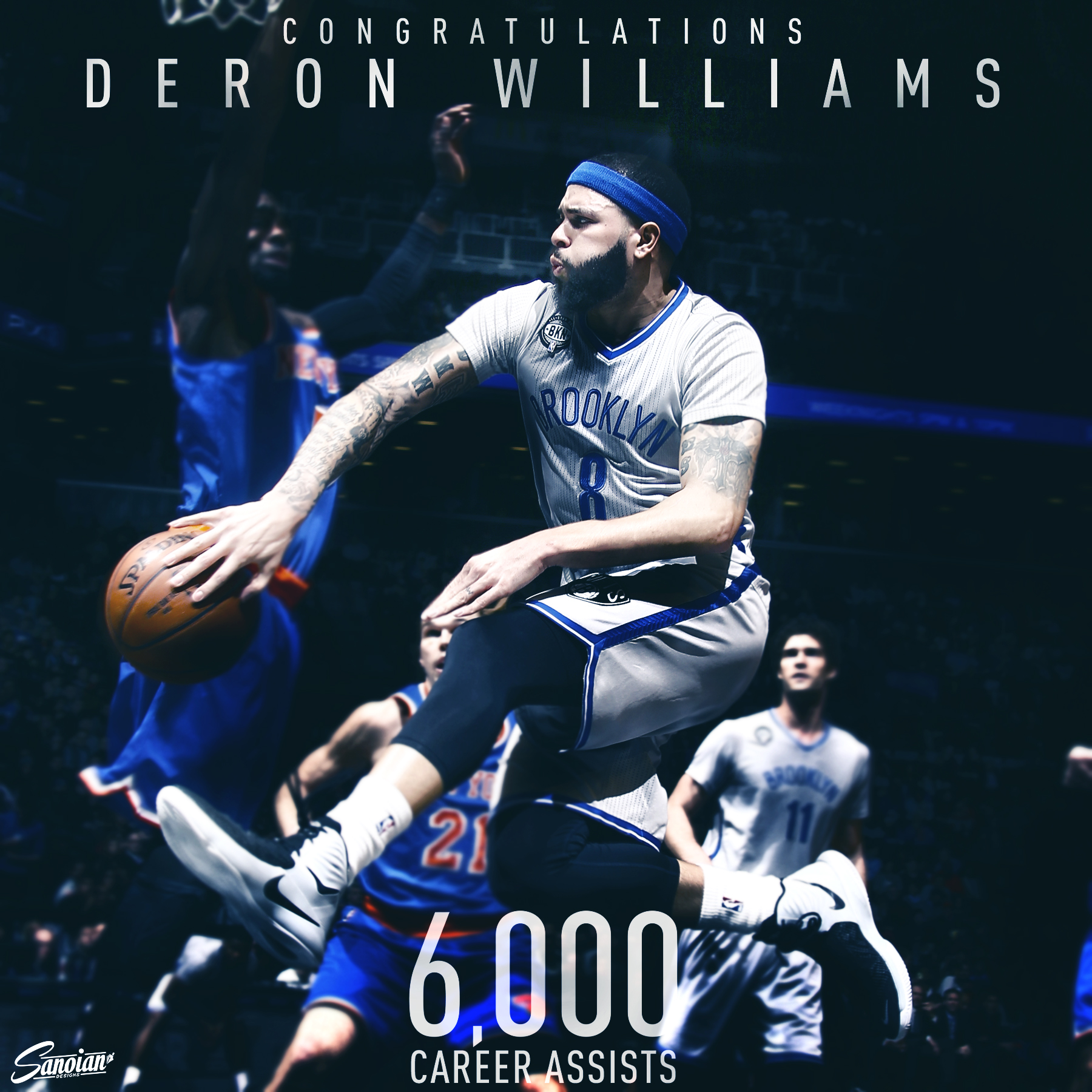 Deron Williams - 6,000 Career Assists