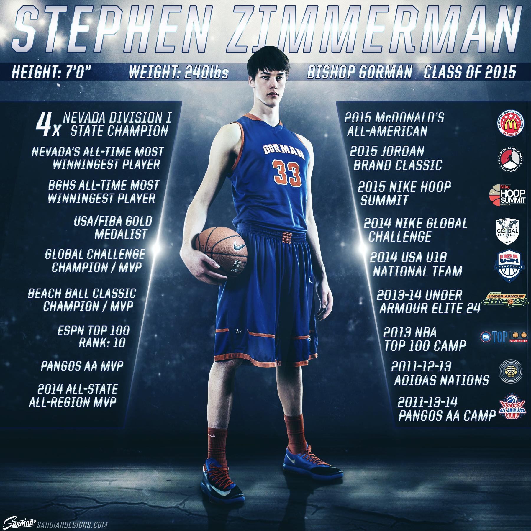 Stephen Zimmerman - Bishop Gorman