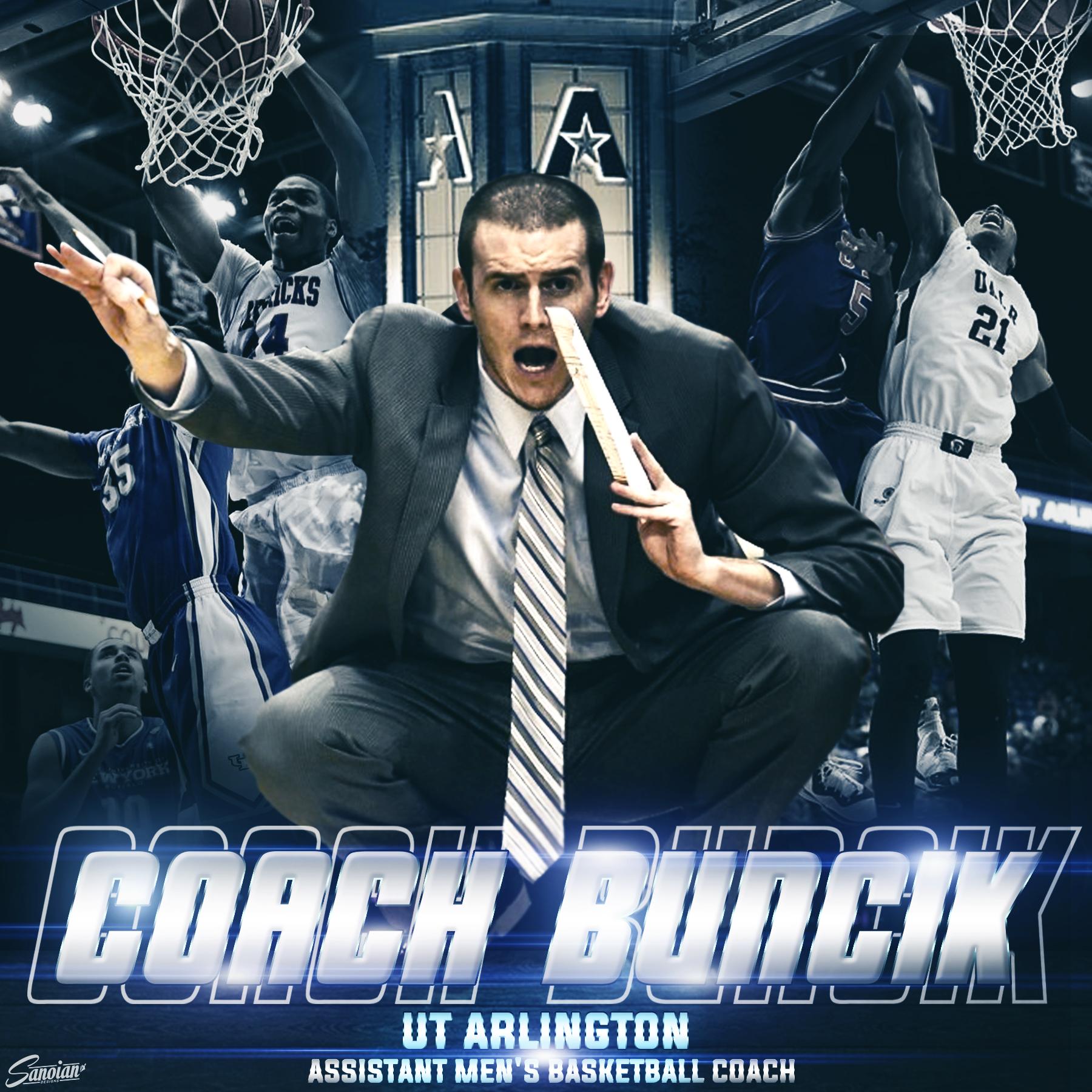 Coach Buncik - UT Arlington Men's Basketball Assistant Coach