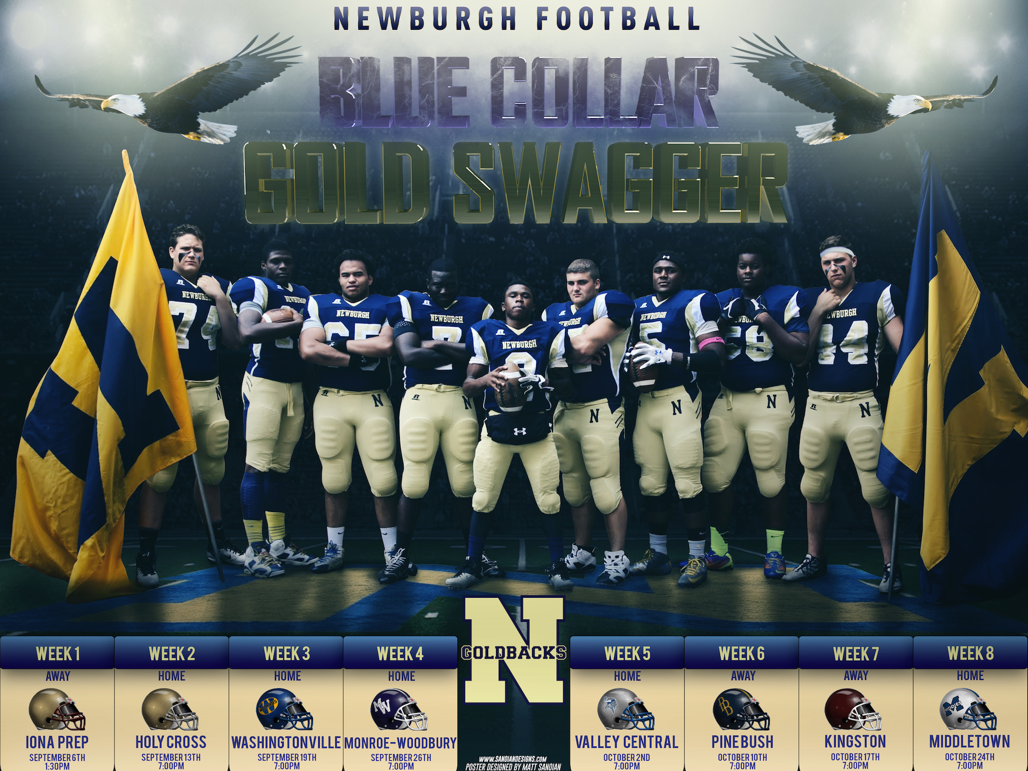 NFA Goldbacks 2014 Season Schedule