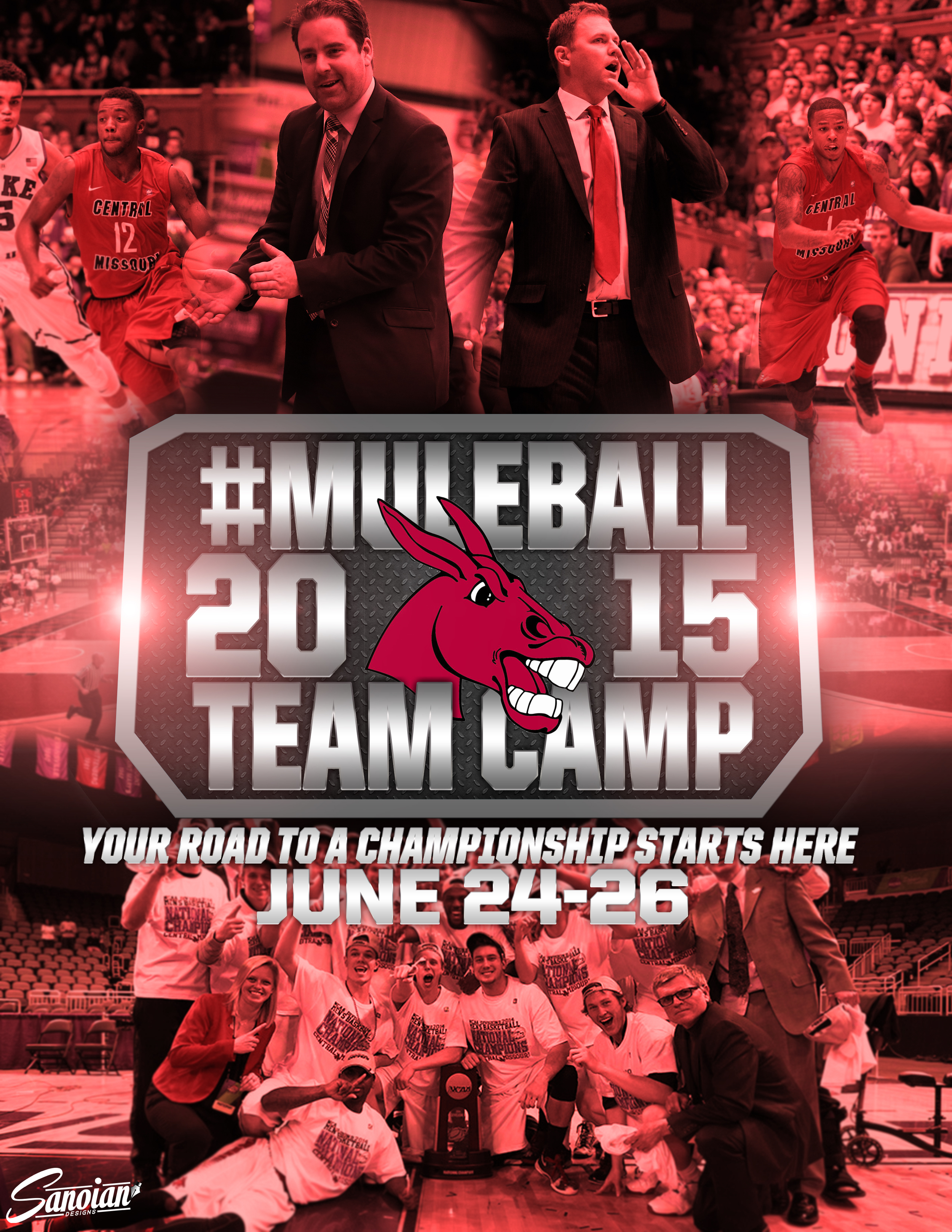 UCM Team Camp Poster
