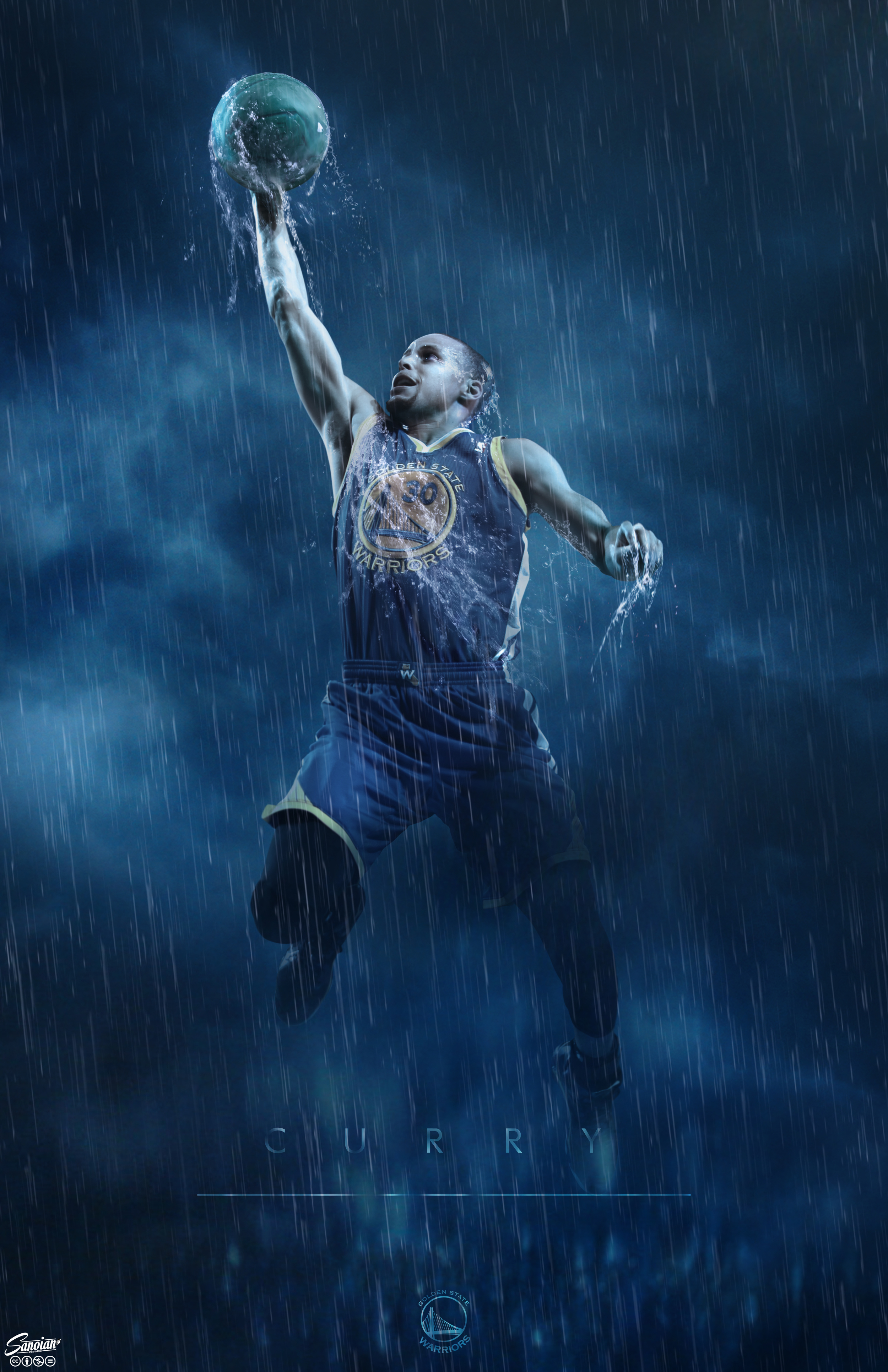 """""""Weather the Storm"""" - Steph Curry"""