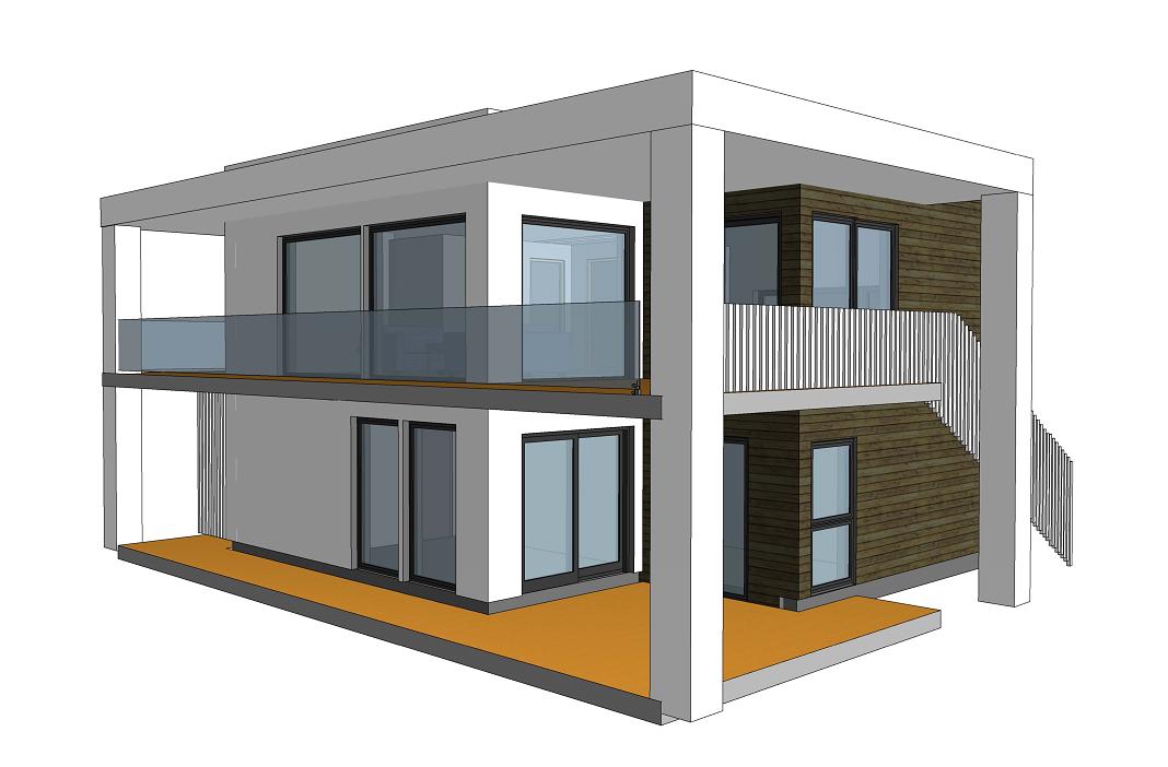 Designed by architect Tove Ovesen, Unikus