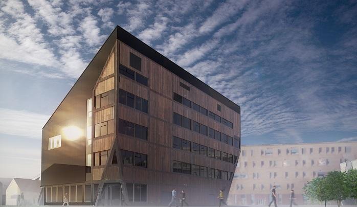 Slik blir NTNU og SINTEF sitt nye ZEB-laboratorium på Gløshaugen i Trondheim