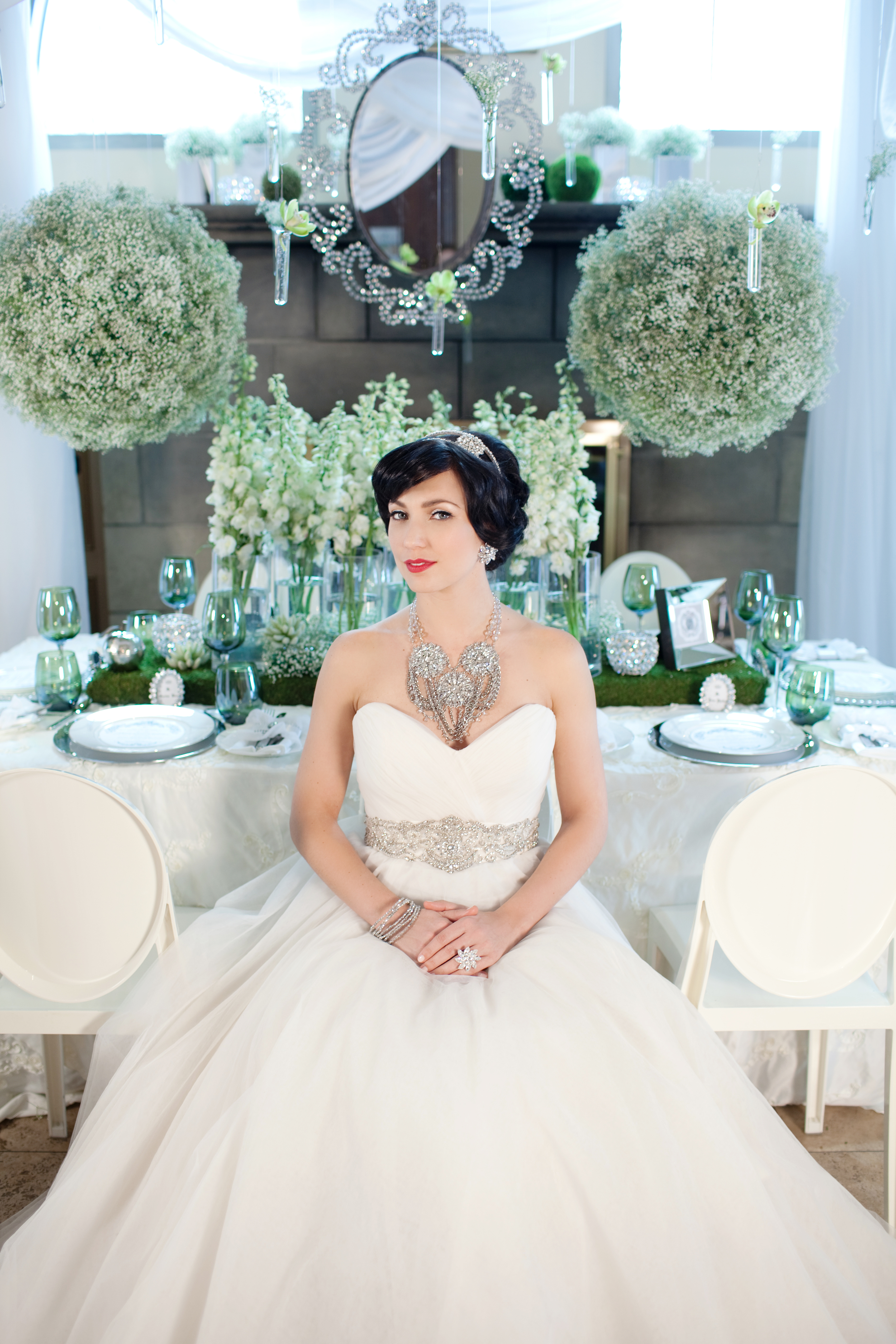 Featured on WedLuxe.com photo corina v