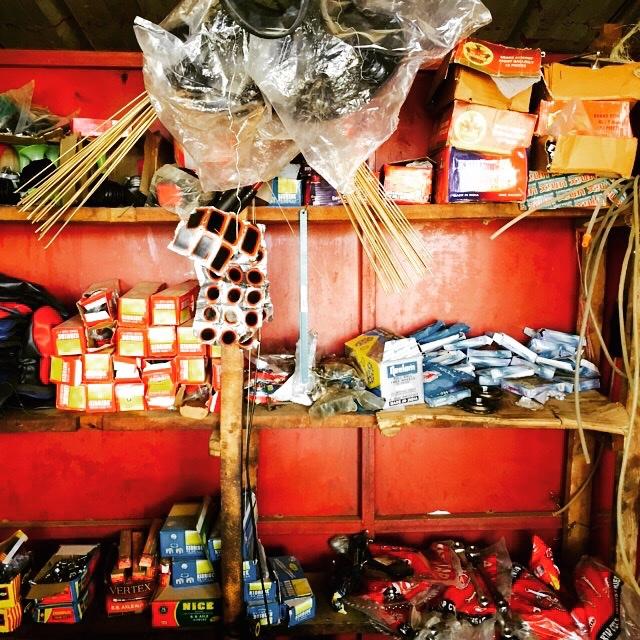 Bike Repair shop, Mayange
