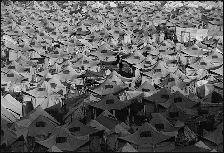 Cegrane refugee camp, Macedonia.
