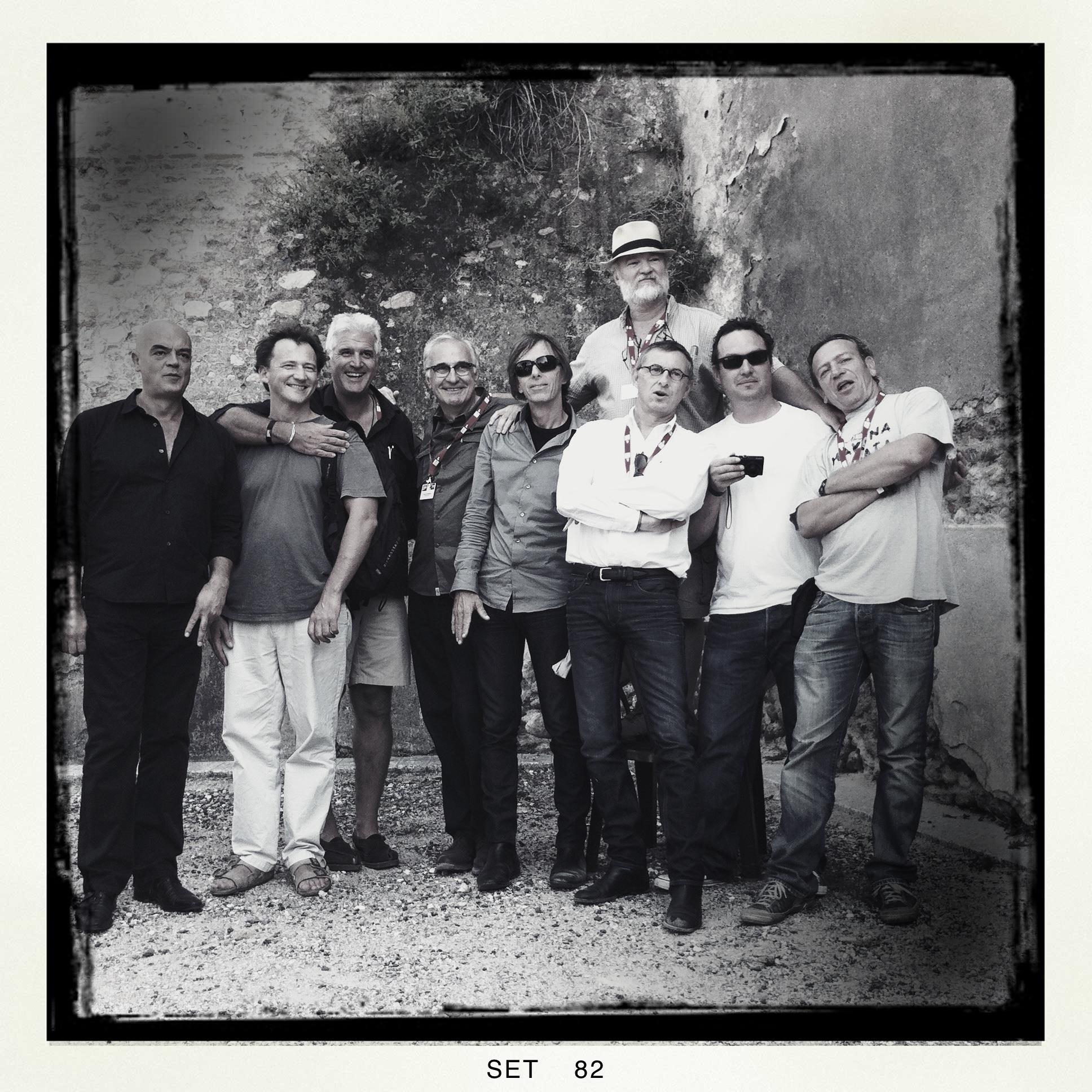 Rémy Ourdan, Olivier Jobard, GK, Benoit Gysembergh, Christopher Morris, Tom Haley, Jerome Delay, Jon Jones & Darko Bandic