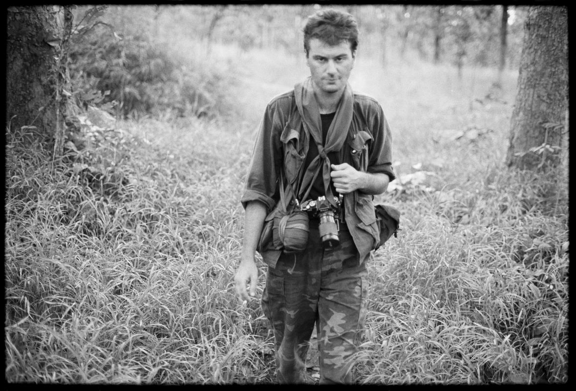 Robert, who I had evidently recently cheesed off, during a long range 6 week mission with the KPNLF in Cambodia. 1991
