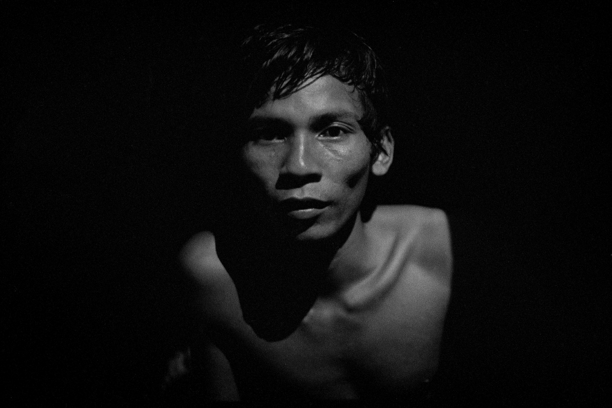 Cambodian villager. Western Cambodia. 1991