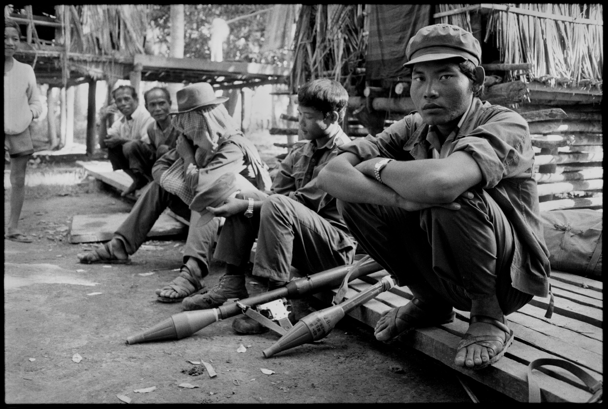 Khmer Rouge soldiers, Cambodia, 1991