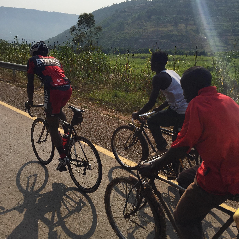 Rwandan National cycling Team