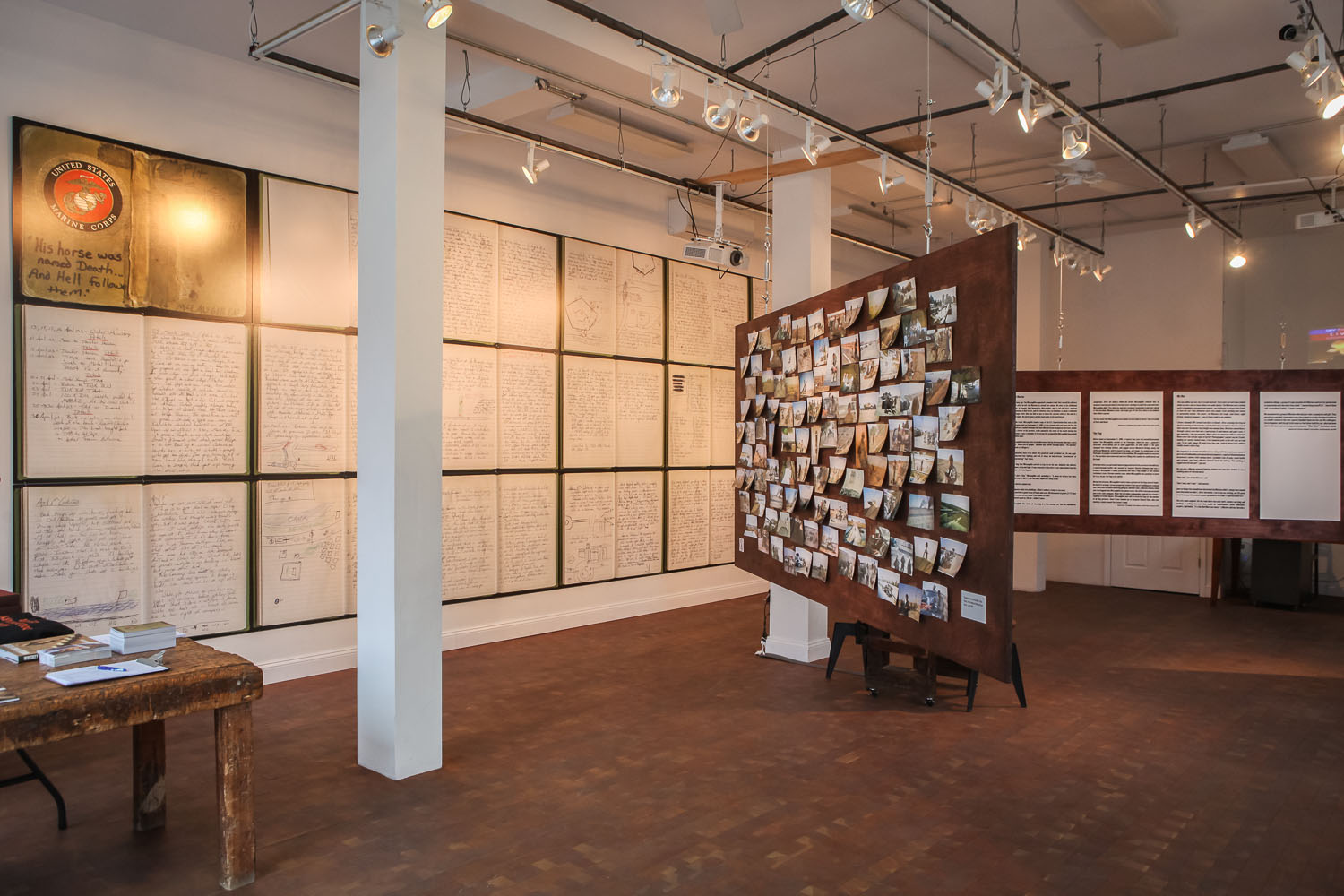 War Diaries Exhibition at the Bronx Documentary Center