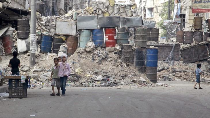 East Al-Ansari, neighborhood of Aleppo, 2014 / ©Reuters