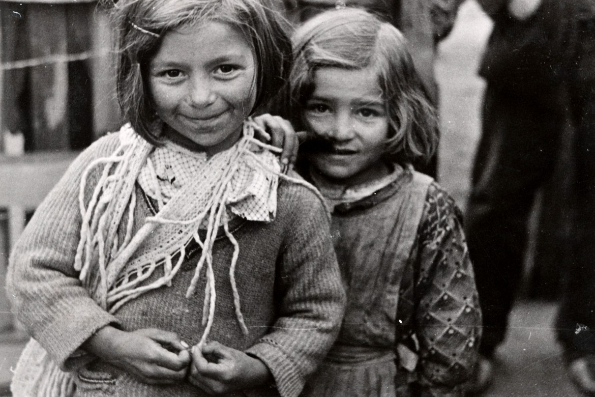Displaced children in Madrid during the Spanish Civil War, 1936-1939. From the ICRC Library.