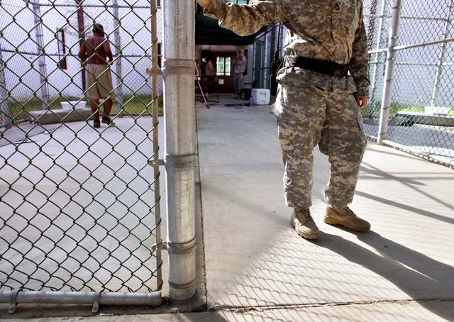 Guantanamo Training Day - Camp 5, GTMO - Photo courtesy of Reuters/Brennan Linsley