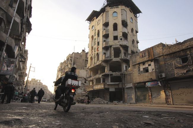 In Syria, a catastrophic humanitarian situation - Aleppo February 27, 2013 - Photo courtesy of Reuters/Giath Taha