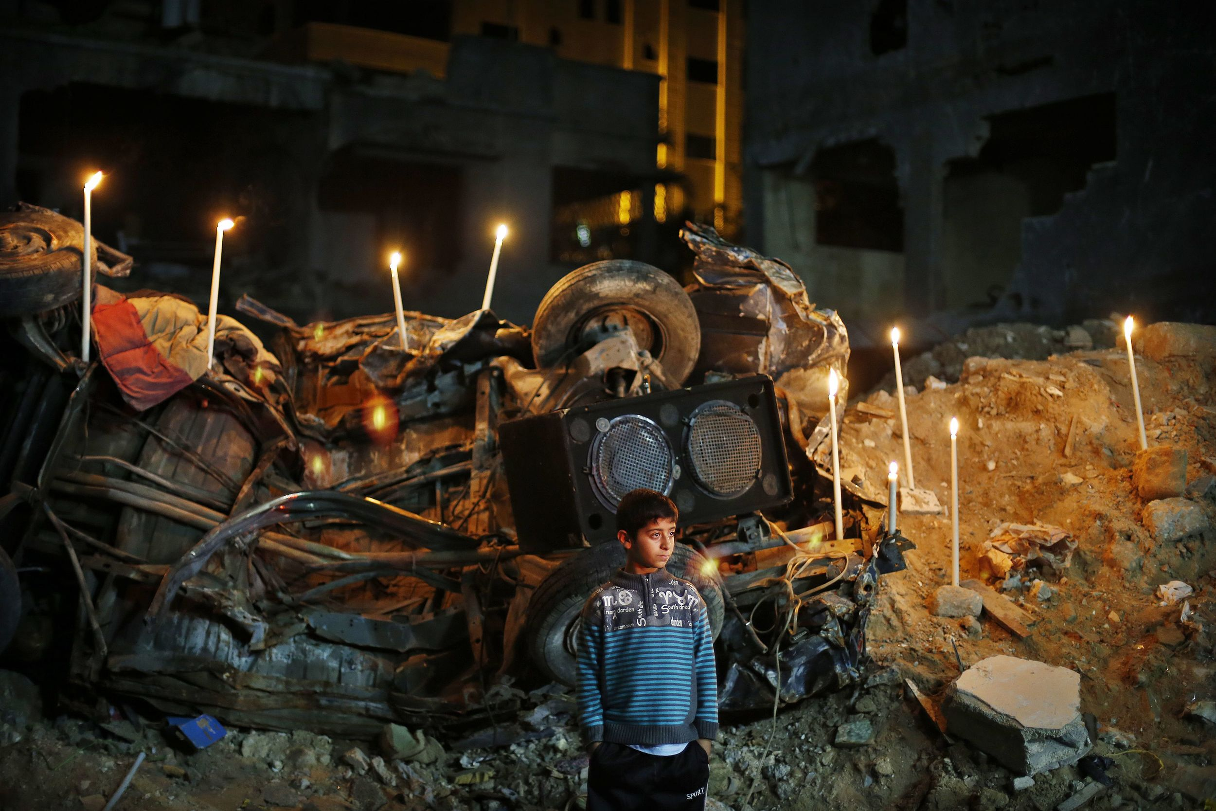 Israel and Gaza twenty days after Pillar of Defense - Photo courtesy of Reuters/Suhaib Sale