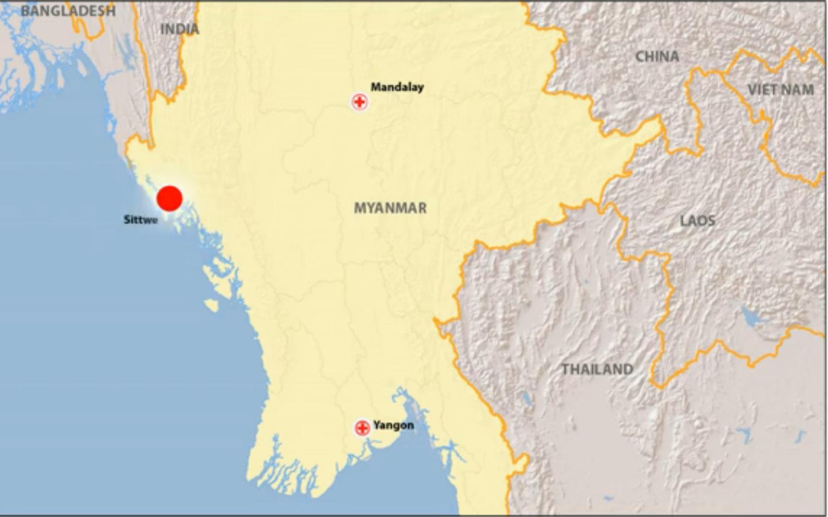 In Myanmar, responding to pressing needs in Rakhine State