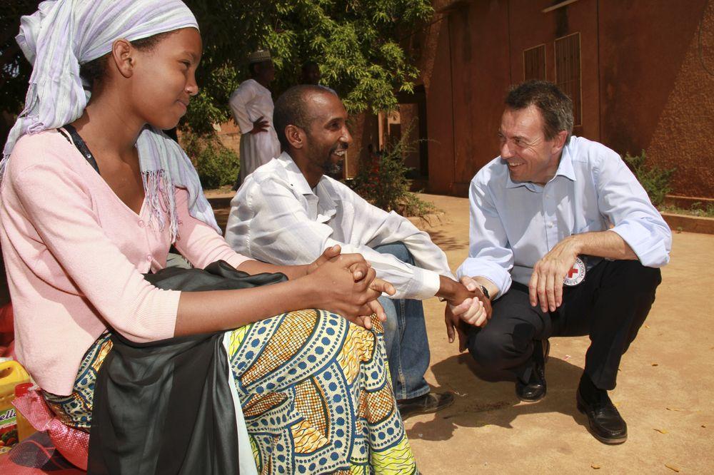 ICRC President speaks from Bamako, Mal
