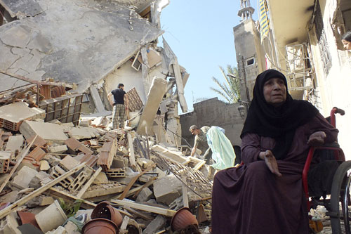 In Syria, scrambling to respond to fast-growing needs - Photo courtesy of Reuter