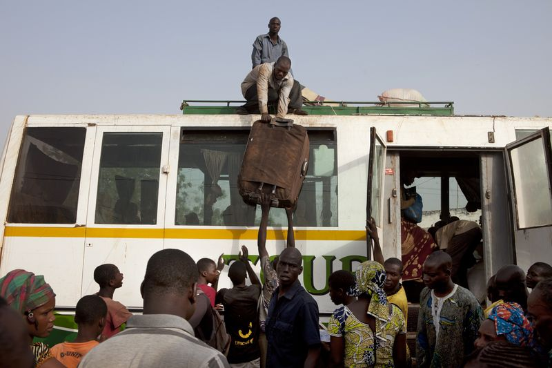 Northern Mali on the edge - Fleeing unrest in Gao - Photo courtesy of Reuters/Joe Penney