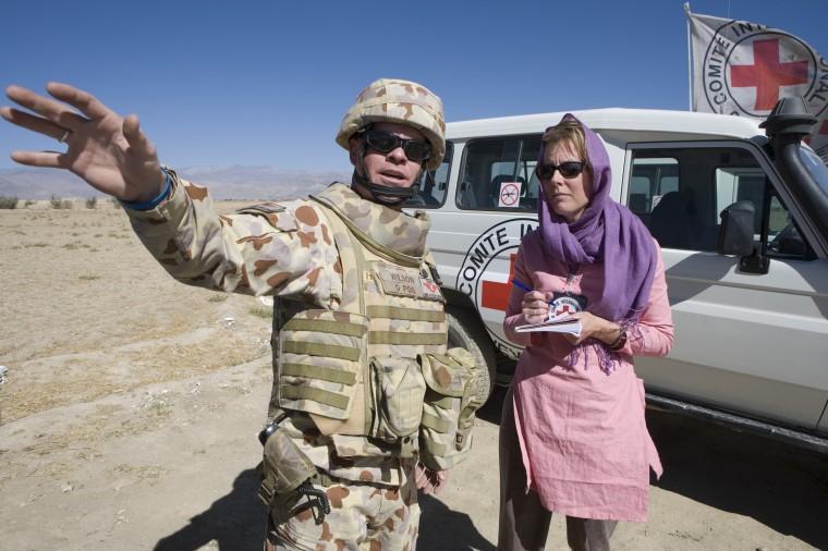 Engaging CENTCOM on Afghanistan - © ICRC/KOKIC, Marko