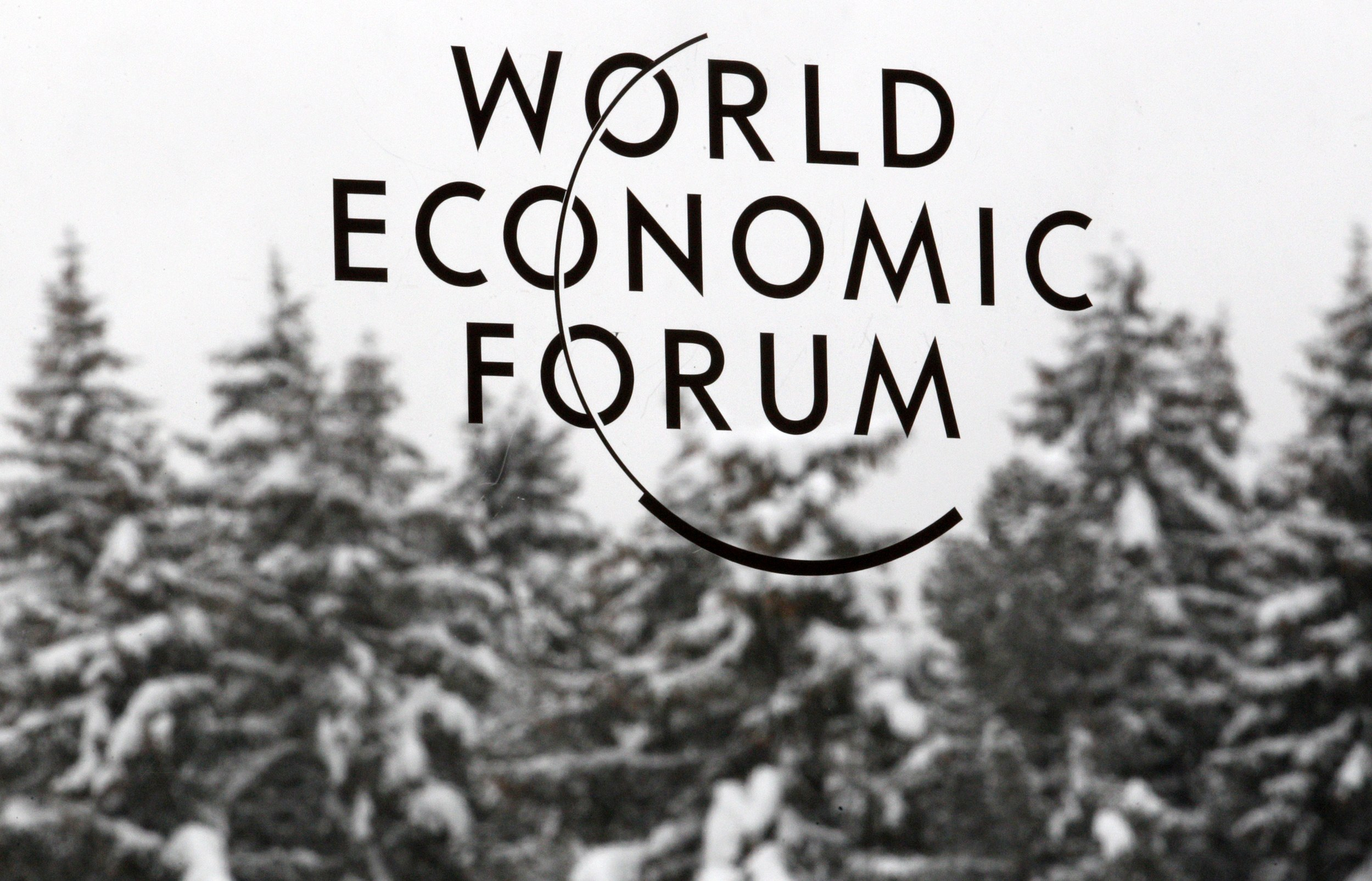 Davos as world barometer - Photo courtesy of Reuters/Christian Hartmann