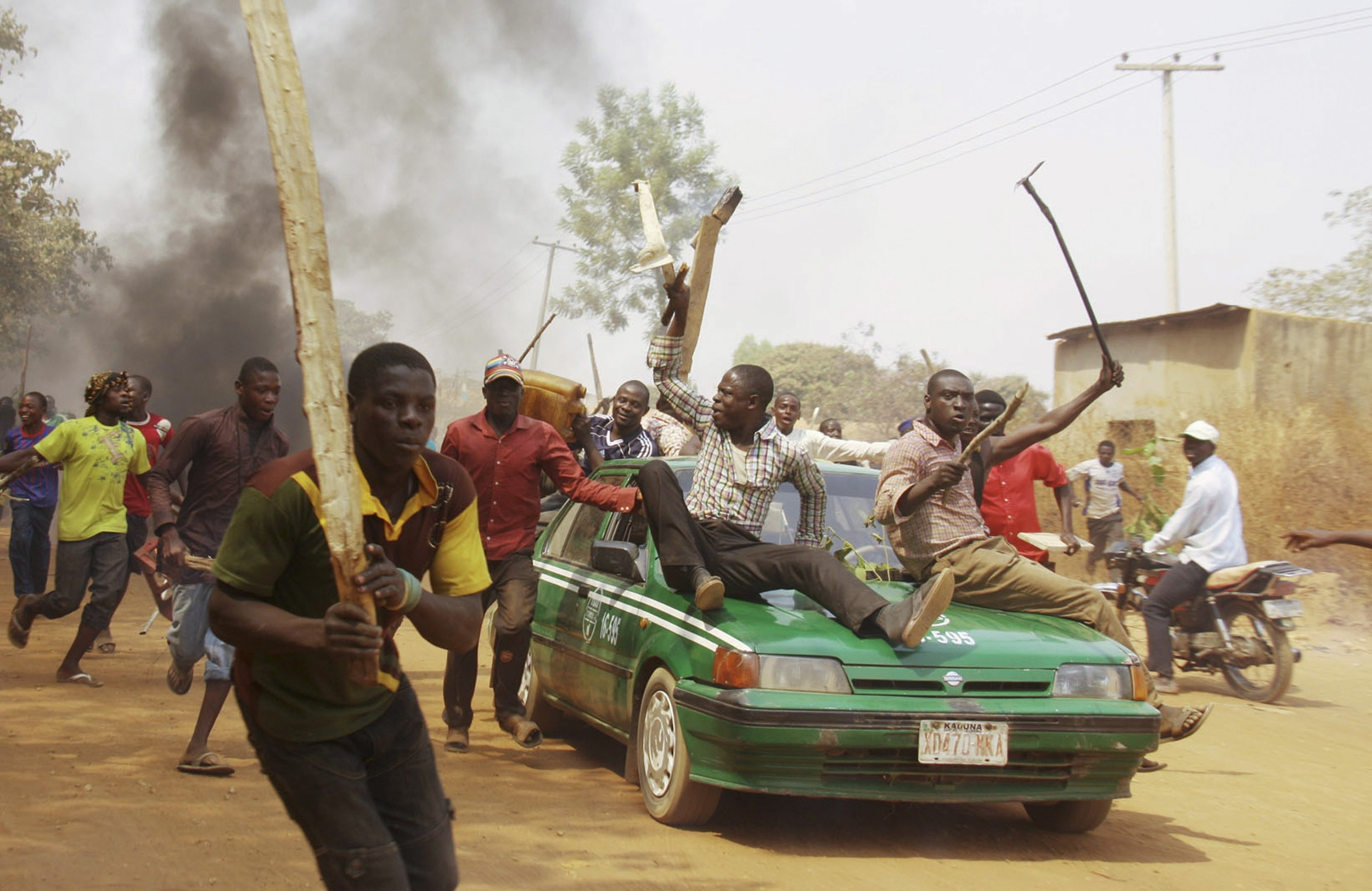 Stepping up operations in Nigeria - Photo courtesy of Reuters/Afolabi, Sotund