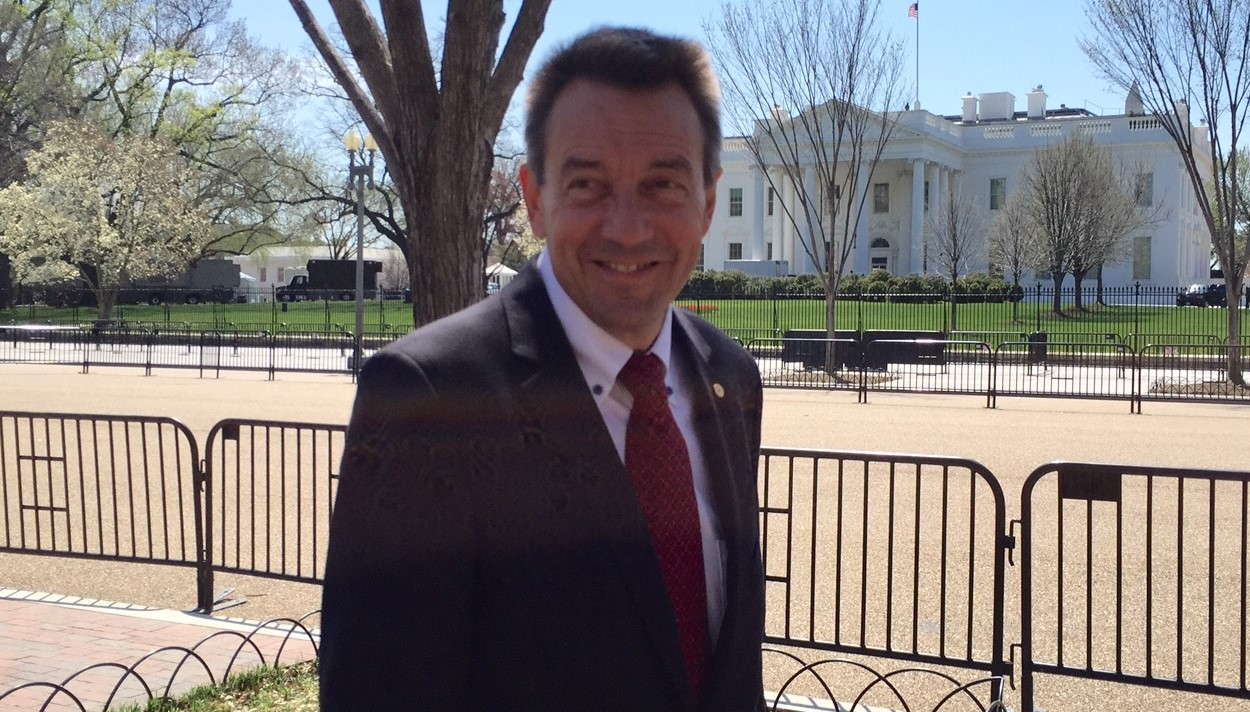 The President of the ICRC, Peter Maurer, was in Washington on April 13 and 14 for meetings with US officials. Copyright: ICRC/Anna Nelson