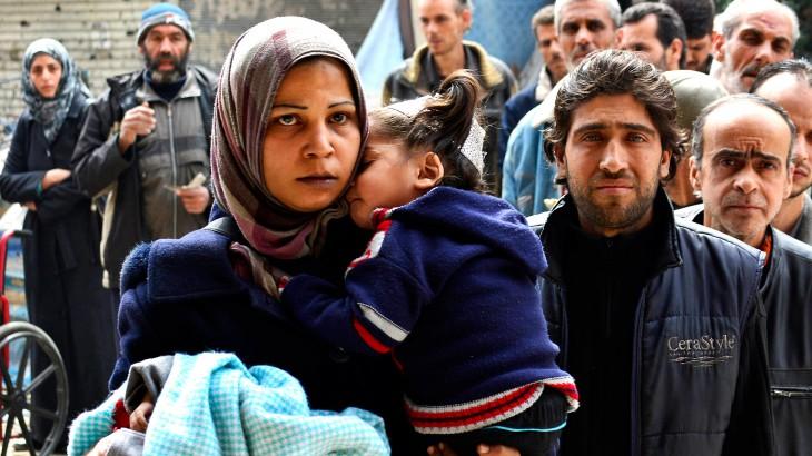 Caption Yarmouk Refugee Camp, Damascus, Syria, March 2015. © Reuters