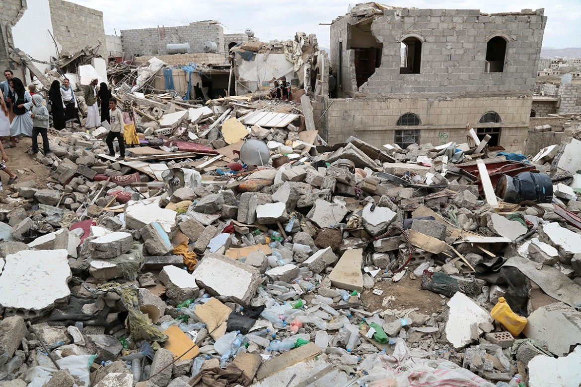 Sana'a, Sawan district.  Civilian areas have not been spared the fighting. All sides have suffered.  CC BY-NC-ND/ICRC/T. Glass