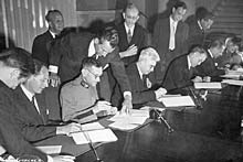 Geneva, 1949. Diplomatic conference for the revision of the Geneva Conventions.©ICRC/J. Cadoux/hist-03538-06