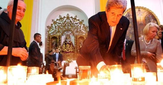 Photo of Secretary of State, John Kerry, courtesy of the State Department's Official Blog, DIPNOTE: https://blogs.state.gov/stories/2015/09/05/toward-better-understanding-religion-and-global-affairs