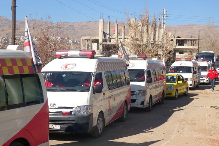 In the city of Zabadani.