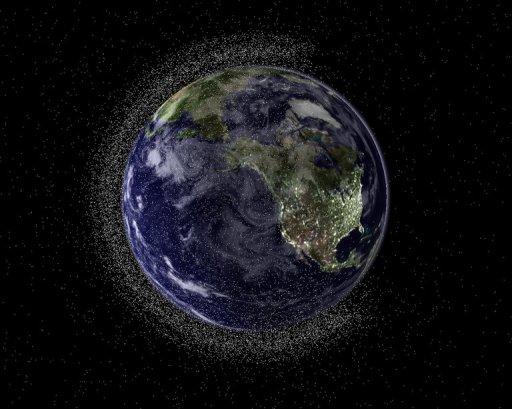 Space Debris. c/o NASA