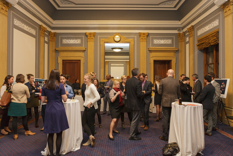 People on War Congressional Reception