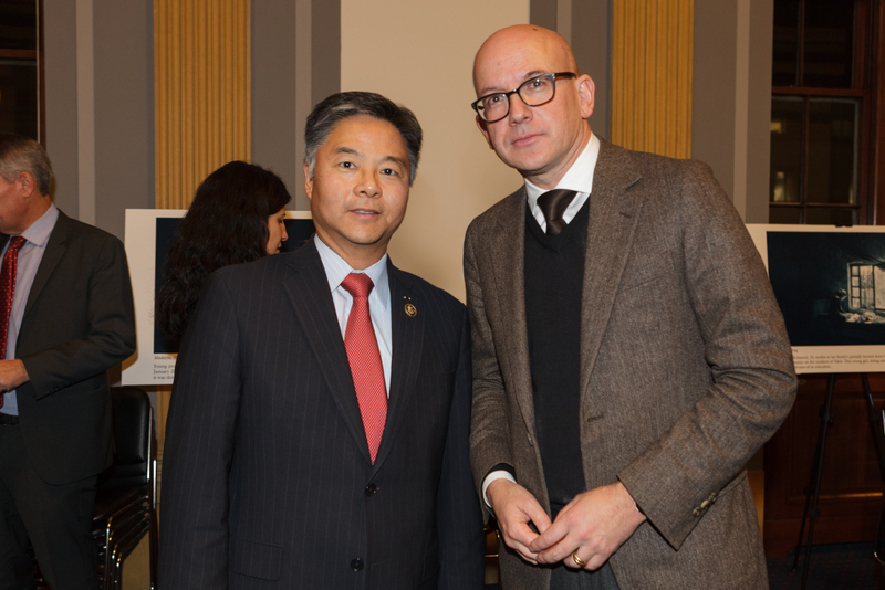 Congressman Ted Lieu, CA and ICRC Director-General Yves Daccord