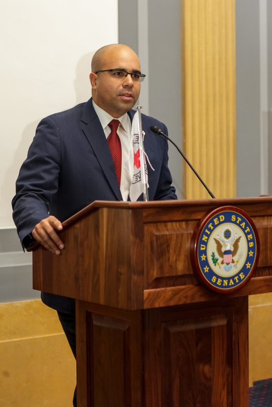 American Red Cross Services to the Armed Forces Senior VP Koby Langley