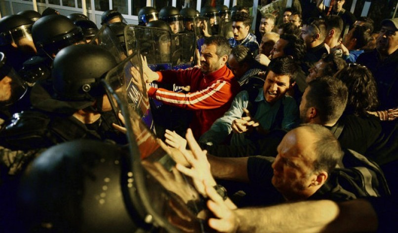 Protests in Macedonia - European Council on Foreign Relations