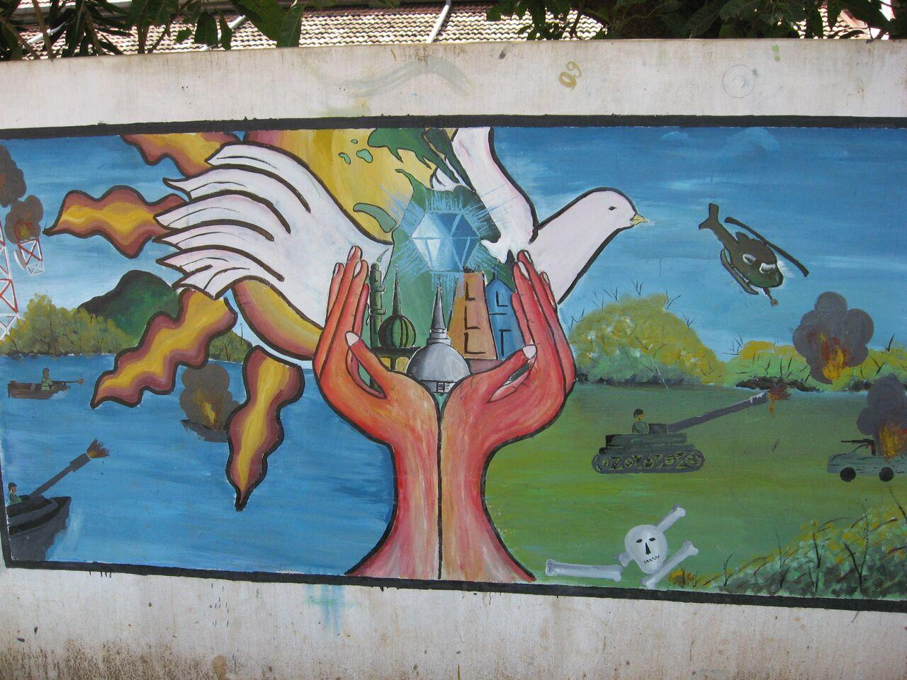 Sri Lanka Mural