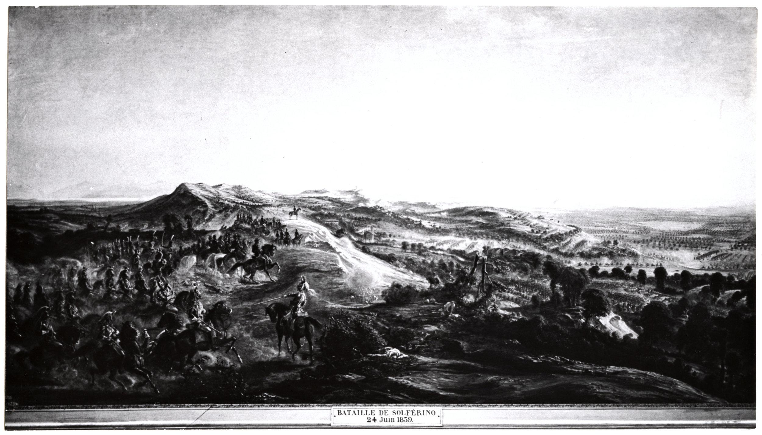 The battlefield on June 24, 1859.