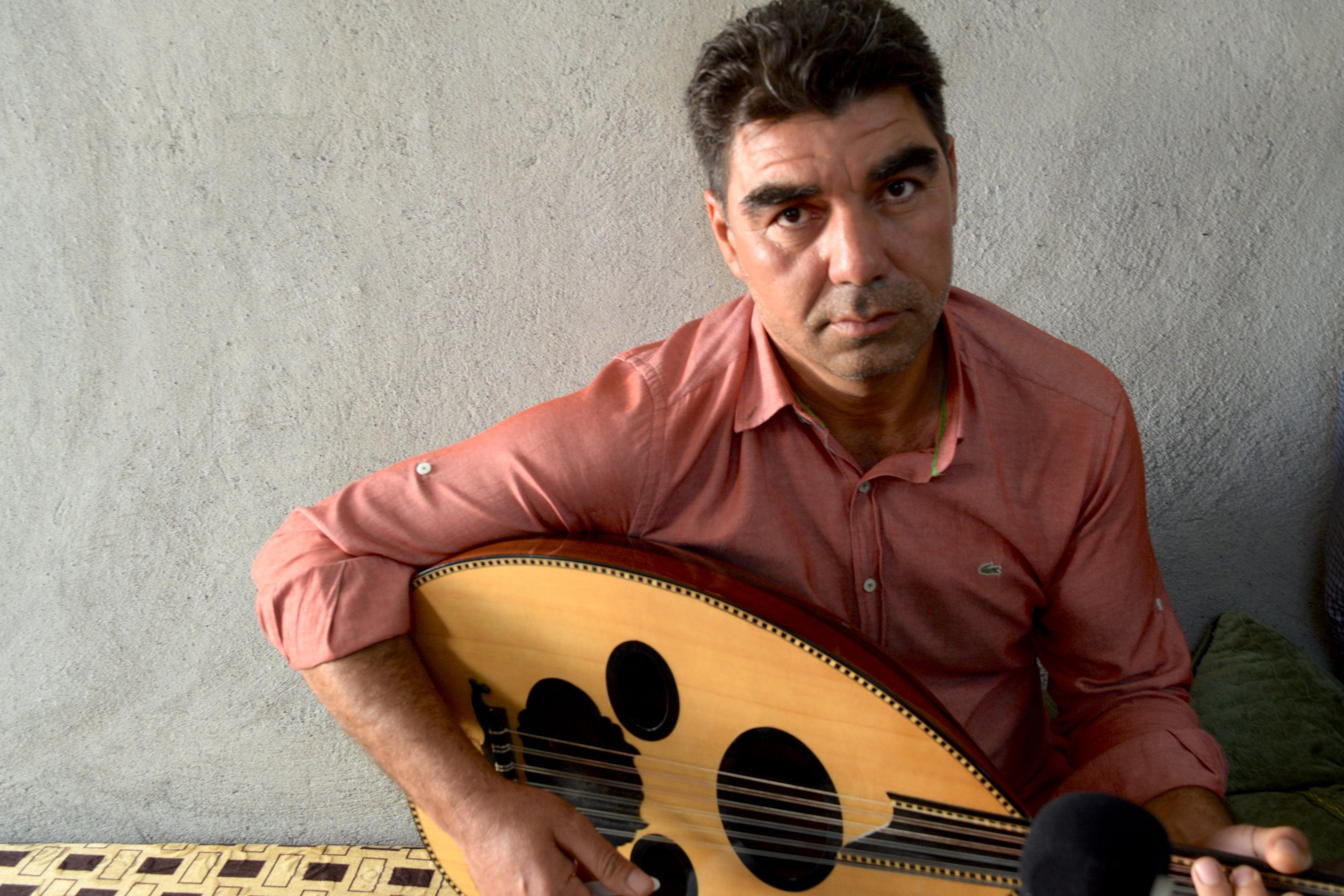 Ali is a Syrian musician now living in Iraq. To learn more about his story, go to musicinexile.org