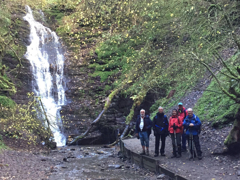 2018 Oct - Llandrindod Wells, Radnor Forest with views of Water Break its Neck