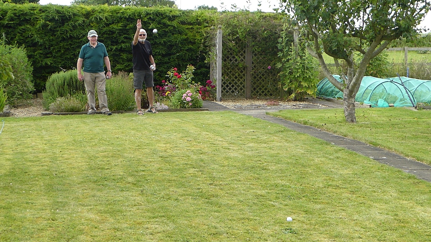 The Final of the Boules Contest