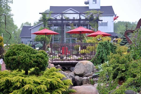 "Another lovely spot in Algoma.....""The Flying Pig Gallery and Green Space"".         Check them out at ;   www.theflyingpig.biz"