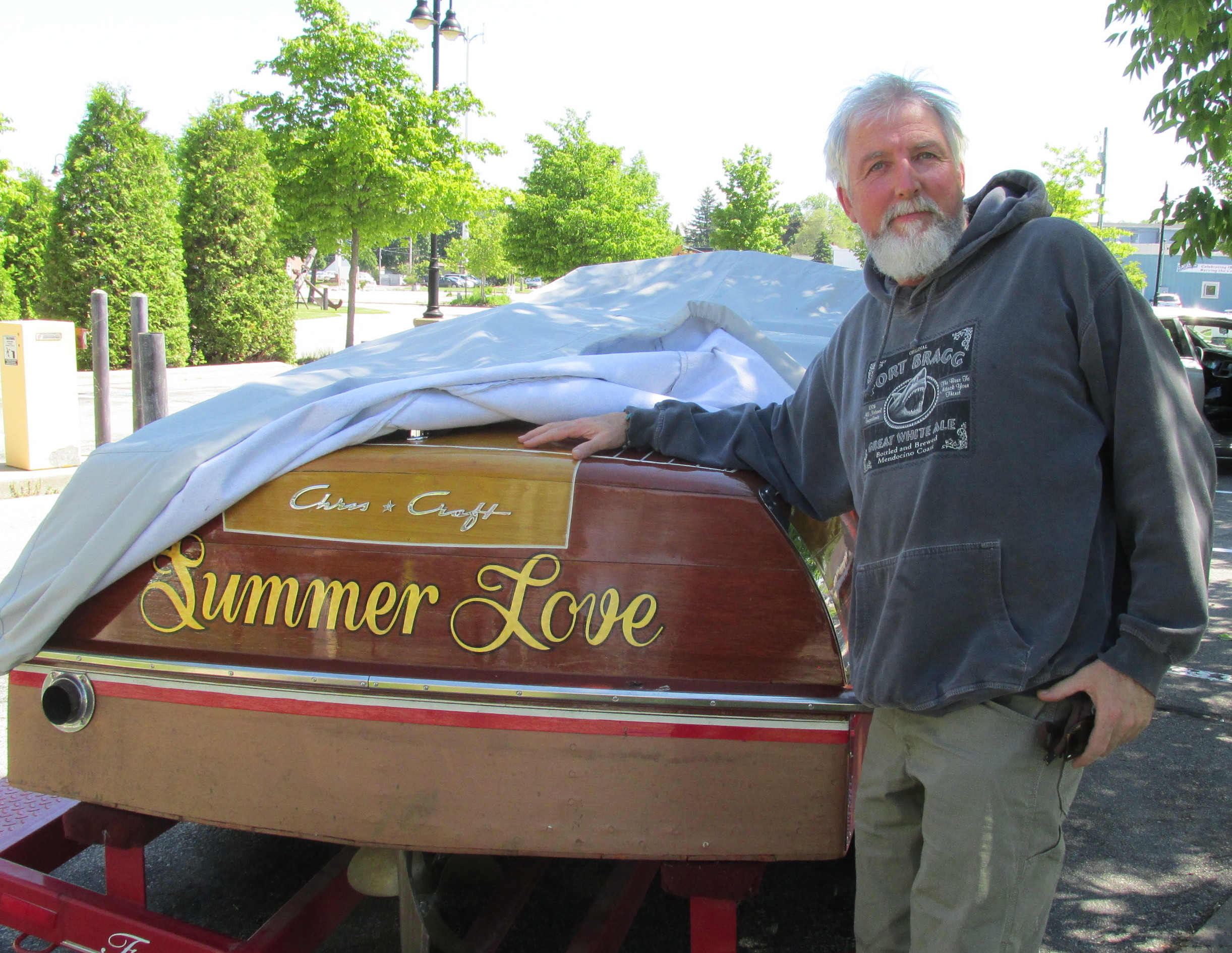 Wayne is not only a car guy.....he is also a boat guy. Ask me if he was in 7th heaven!