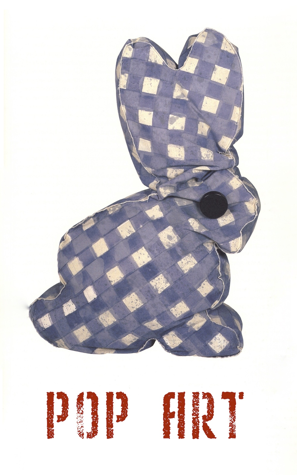 Claes Oldenburg, Calico Bunny 1987